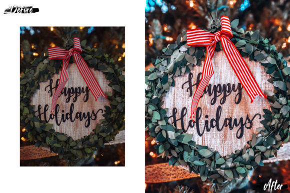 Download Free Christmas Dream Desktop Lightroom Preset Graphic By 3motional for Cricut Explore, Silhouette and other cutting machines.