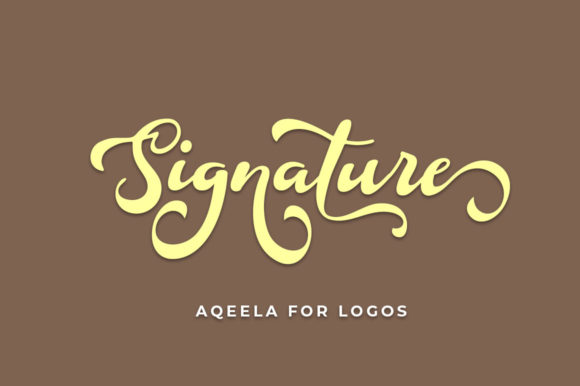 Print on Demand: Douglas Script & Handwritten Font By Aqeela Studio - Image 4