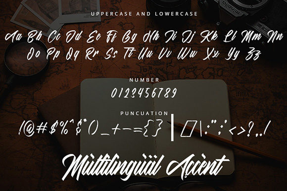 Print on Demand: The Mighty Major Script & Handwritten Font By Justlett - Image 5