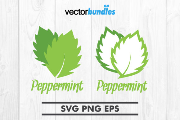 Download Free Peppermint Leaf Clip Art Svg Graphic By Vectorbundles Creative for Cricut Explore, Silhouette and other cutting machines.