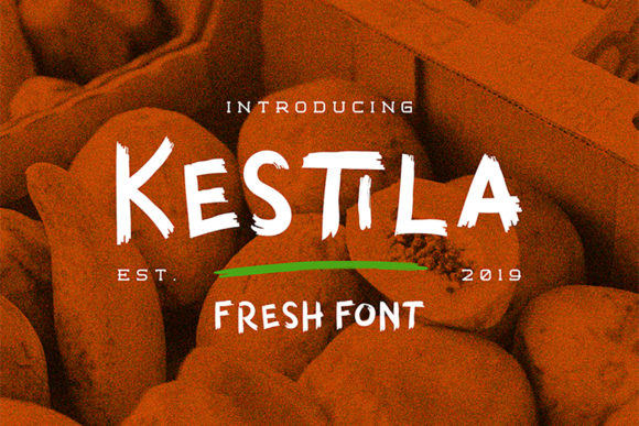 Print on Demand: Kestila Display Font By Letterature Std. - Image 1