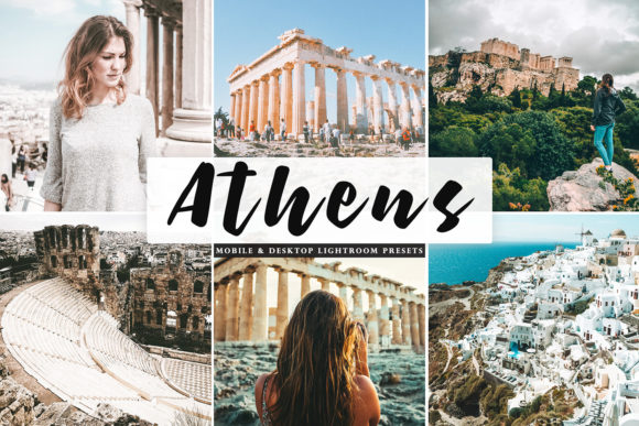 Print on Demand: Athens Lightroom Presets Pack Graphic Actions & Presets By Creative Tacos
