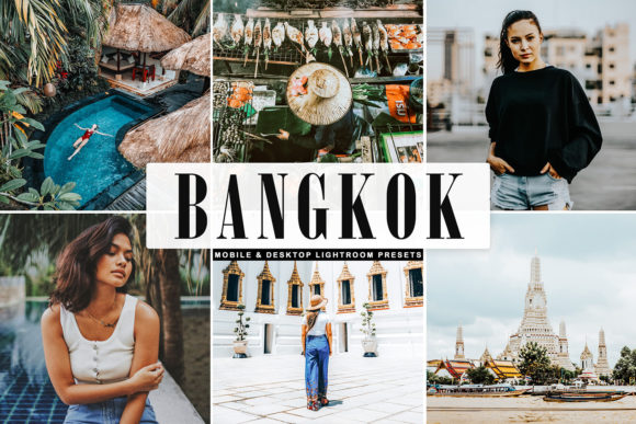 Print on Demand: Bangkok Pro Lightroom Presets Graphic Actions & Presets By Creative Tacos