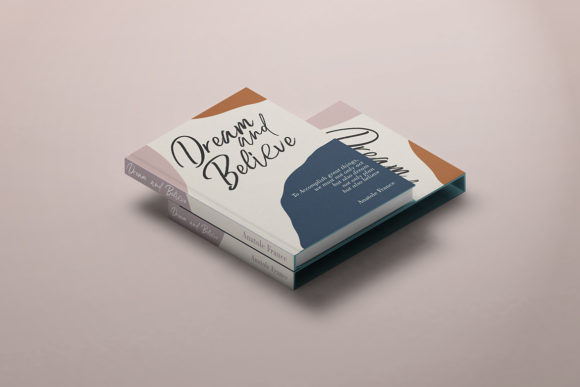 Print on Demand: Relaxation Script & Handwritten Font By Debut Studio - Image 9