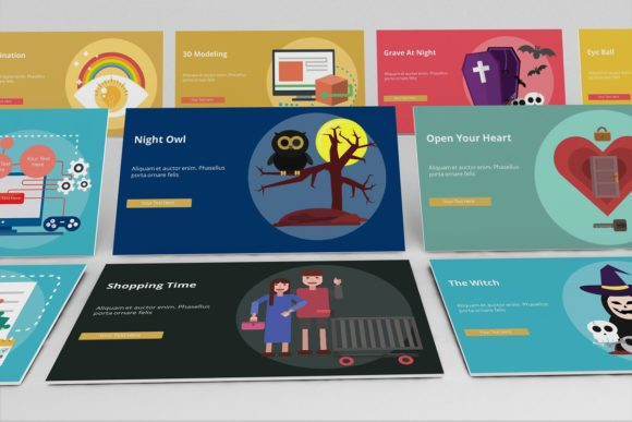 Creative Life Keynote Infographic Graphic Presentation Templates By renure