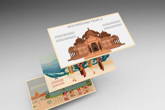 Indian Culture Keynote Template Graphic Presentation Templates By renure - Image 1