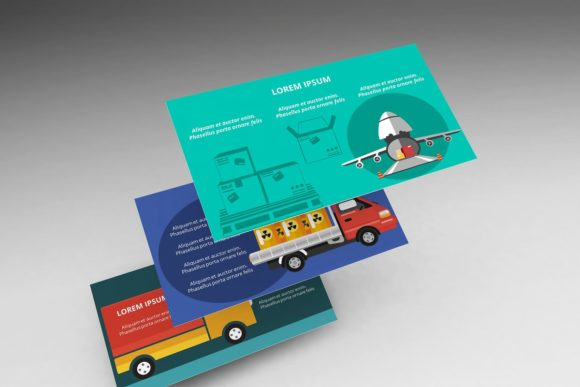 Logistics Infographic Keynote Graphic Presentation Templates By renure - Image 7