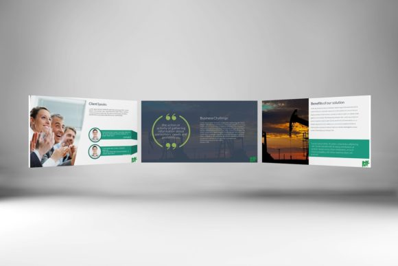 Modern Case Study Keynote Graphic Presentation Templates By renure