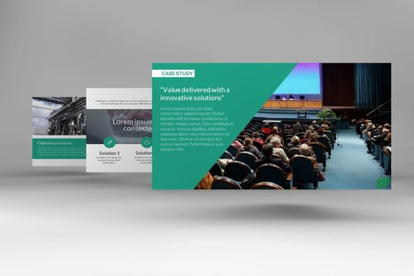 Modern Case Study Keynote Graphic Presentation Templates By renure - Image 2