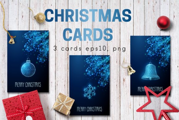 Christmas Cards Graphic Graphic Templates By butus.cm