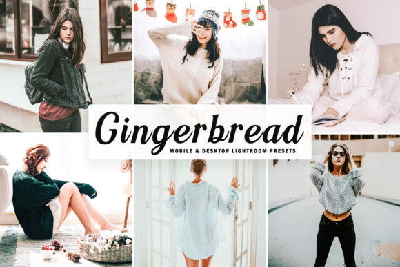 Print on Demand: Gingerbread Lightroom Presets Pack Graphic Actions & Presets By Creative Tacos