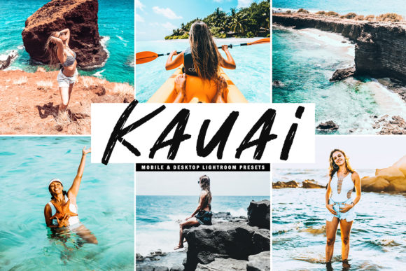 Print on Demand: Kauai Lightroom Presets Pack Graphic Actions & Presets By Creative Tacos