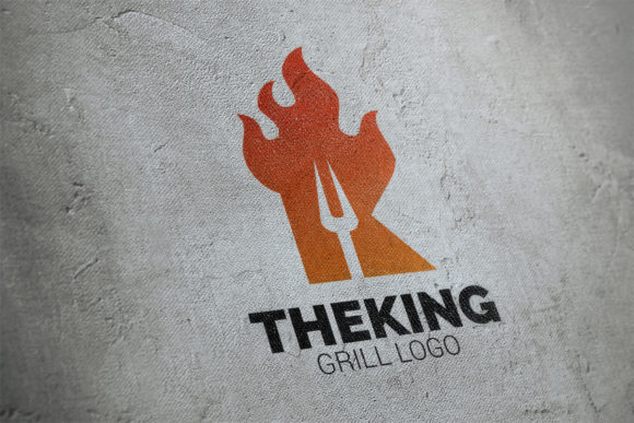 Download Free Letter K Fire Grill Logo Graphic By Smartdesigns Creative Fabrica for Cricut Explore, Silhouette and other cutting machines.