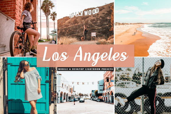 Print on Demand: Los Angeles Lightroom Presets Pack Graphic Actions & Presets By Creative Tacos