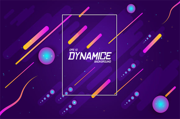 Print on Demand: Modern Background with Dynamic Shape Graphic Graphic Templates By imammuslim835