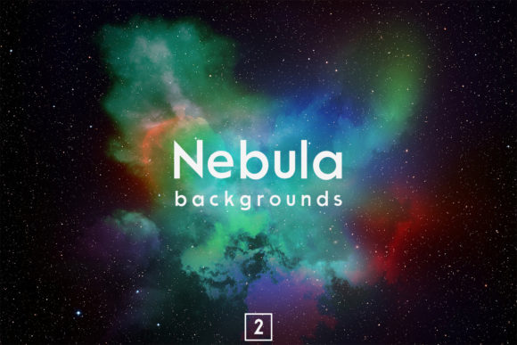 Print on Demand: Nebula Backgrounds 2 Graphic Backgrounds By freezerondigital