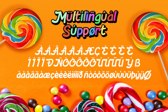 Download Free Lolly Pop Font By Rautanstudio Creative Fabrica for Cricut Explore, Silhouette and other cutting machines.