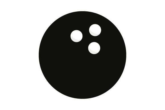 Print on Demand: Bowling Ball Icon Graphic Icons By marco.livolsi2014