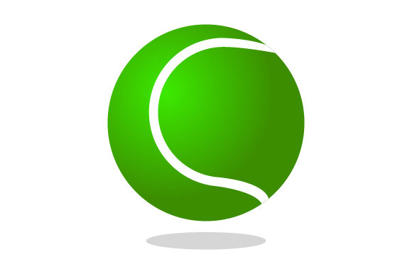 Download Free Tennis Ball Icon Graphic By Marco Livolsi2014 Creative Fabrica for Cricut Explore, Silhouette and other cutting machines.