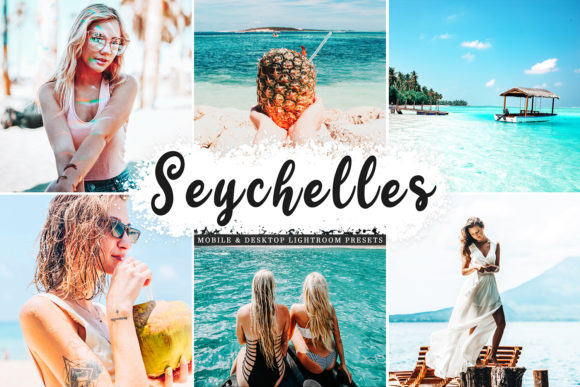 Print on Demand: Seychelles Lightroom Presets Pack Graphic Actions & Presets By Creative Tacos