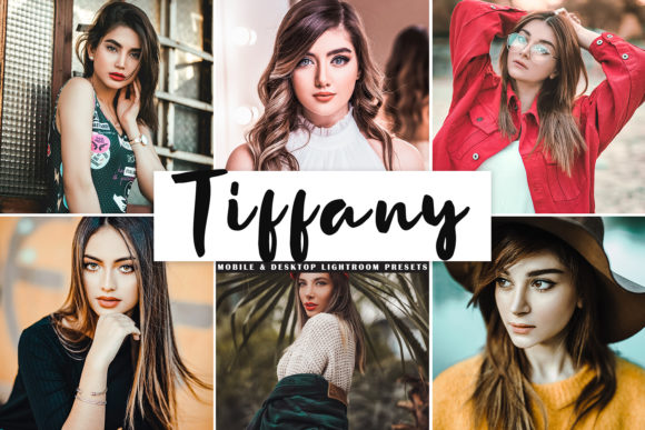 Print on Demand: Tiffany Lightroom Presets Pack Graphic Actions & Presets By Creative Tacos