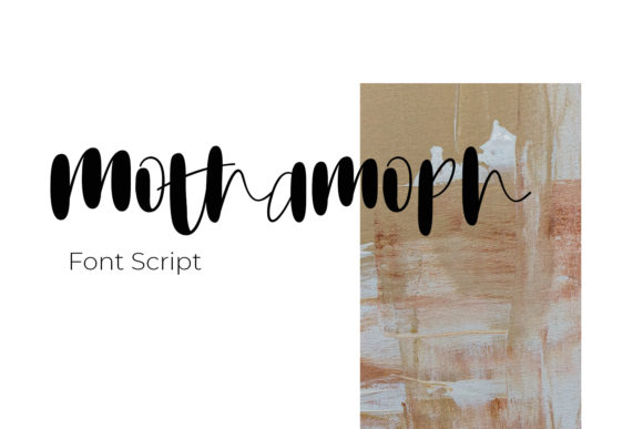 Print on Demand: Mothamoph Script & Handwritten Font By Ongy - Image 1
