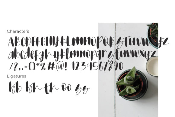 Print on Demand: Mothamoph Script & Handwritten Font By Ongy - Image 3