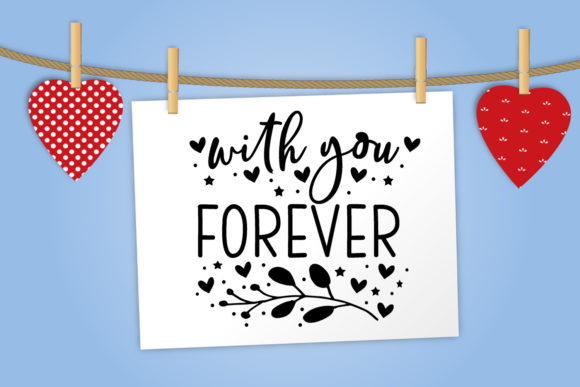 Print on Demand: Valentine's Day Overlays-Cute Valentine Graphic Illustrations By Happy Printables Club - Image 4