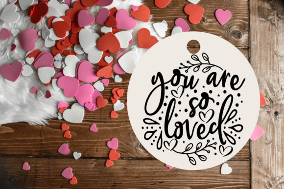 Print on Demand: Valentine's Day Overlays-Cute Valentine Graphic Illustrations By Happy Printables Club - Image 6