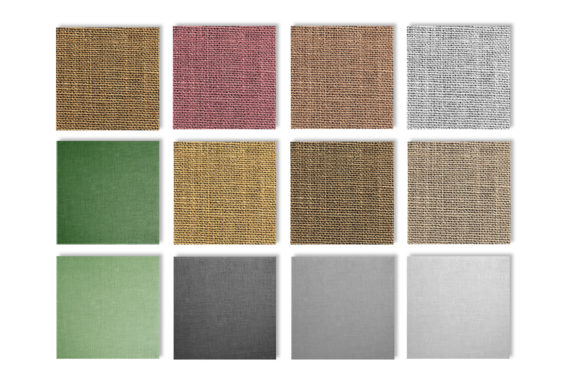 Burlap Textures in Multiple Colors Graphic Textures By GJSArt