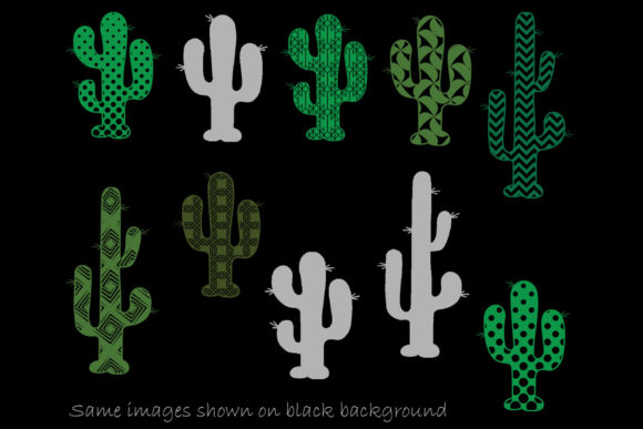 Download Free Cactus Clip Art Cactus Silhouette Graphic By Gjsart Creative for Cricut Explore, Silhouette and other cutting machines.