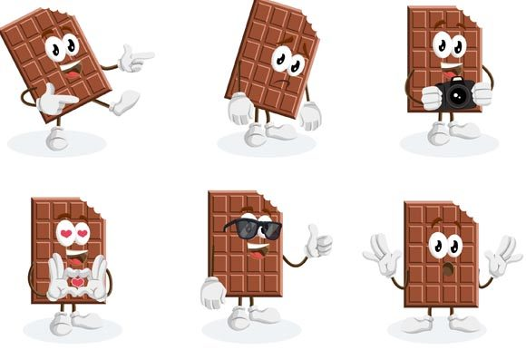 Download Free Chocolate Mascot Logo Graphic By Nabila Studio Creative Fabrica for Cricut Explore, Silhouette and other cutting machines.