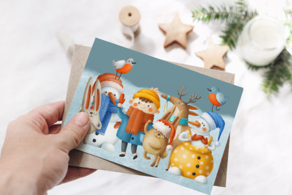 Print on Demand: Winter Characters Graphic Illustrations By Architekt_AT - Image 8
