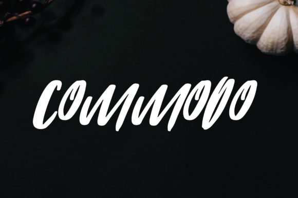 Print on Demand: Commodo Script & Handwritten Font By goodigital