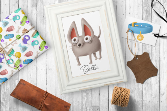 Print on Demand: Dogs Clipart Set 1 Graphic Illustrations By Architekt_AT - Image 2