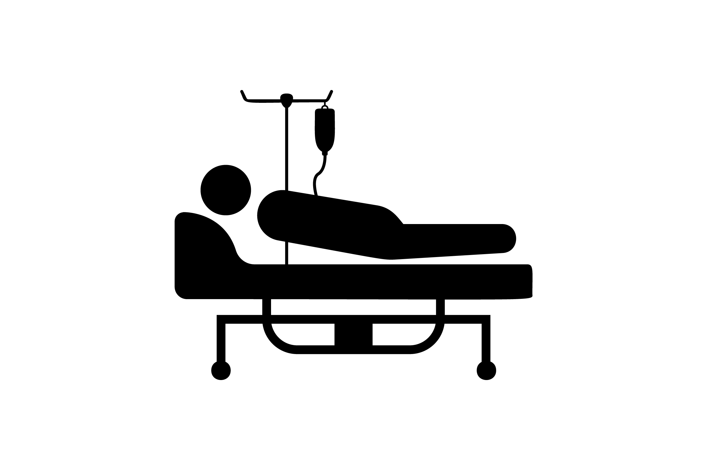 Download Free Patient Bed Glyph Vector Icon Graphic By Riduwan Molla for Cricut Explore, Silhouette and other cutting machines.