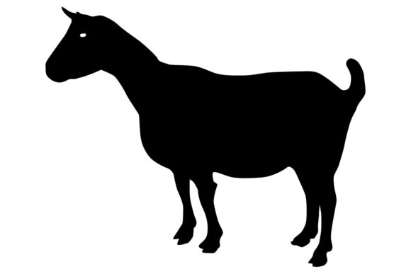 Download Free Goat Silhouette Graphic By Idrawsilhouettes Creative Fabrica for Cricut Explore, Silhouette and other cutting machines.