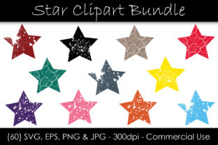 Stars Bundle Graphic Objects By GJSArt