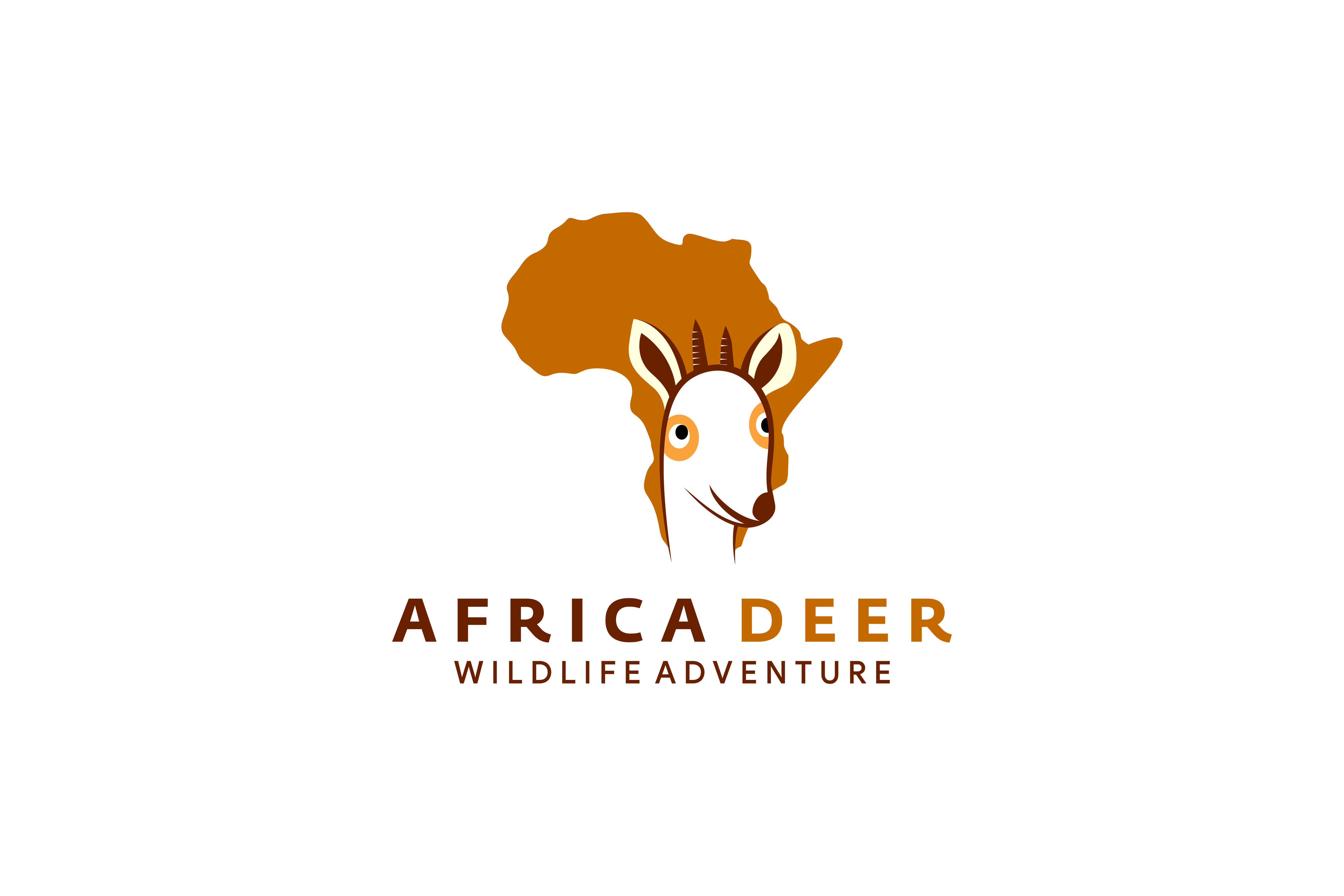 Download Free Head Dear Africa Logo Graphic By Noory Shopper Creative Fabrica SVG Cut Files