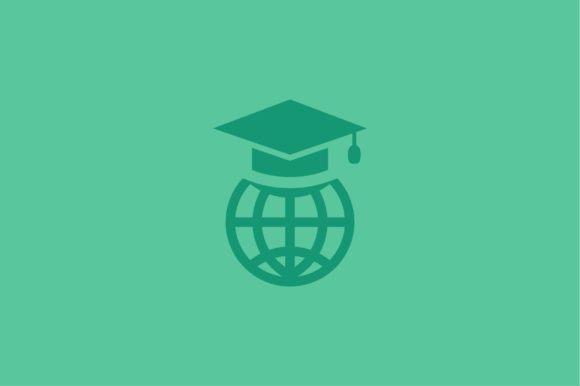 Download Free Globe And Graduation Cap Icon Vector Graphic By Riduwan Molla for Cricut Explore, Silhouette and other cutting machines.