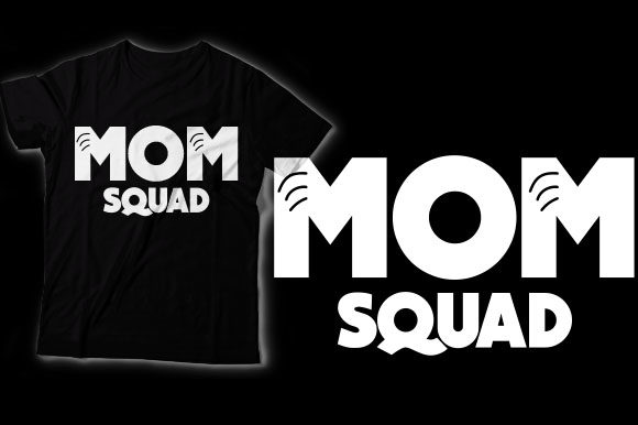 Mom Squad Graphic Crafts By HASSHOO