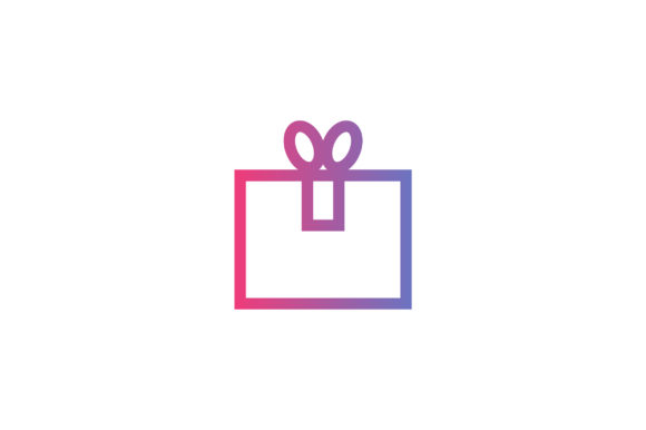 Download Free Colorful Gift Box Line Art Vector Icon Graphic By Riduwan Molla for Cricut Explore, Silhouette and other cutting machines.