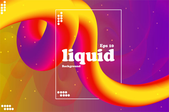 Print on Demand: Liquid Colorfull Background Graphic Graphic Templates By imammuslim835