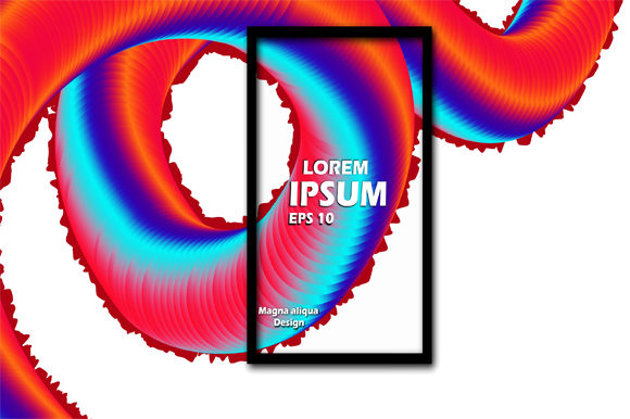 Print on Demand: Liquid Colorfull Background Design Graphic Graphic Templates By imammuslim835