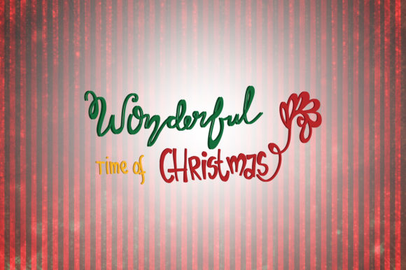 Wonderful Time Of Christmas Quotes Graphic By Wienscollection
