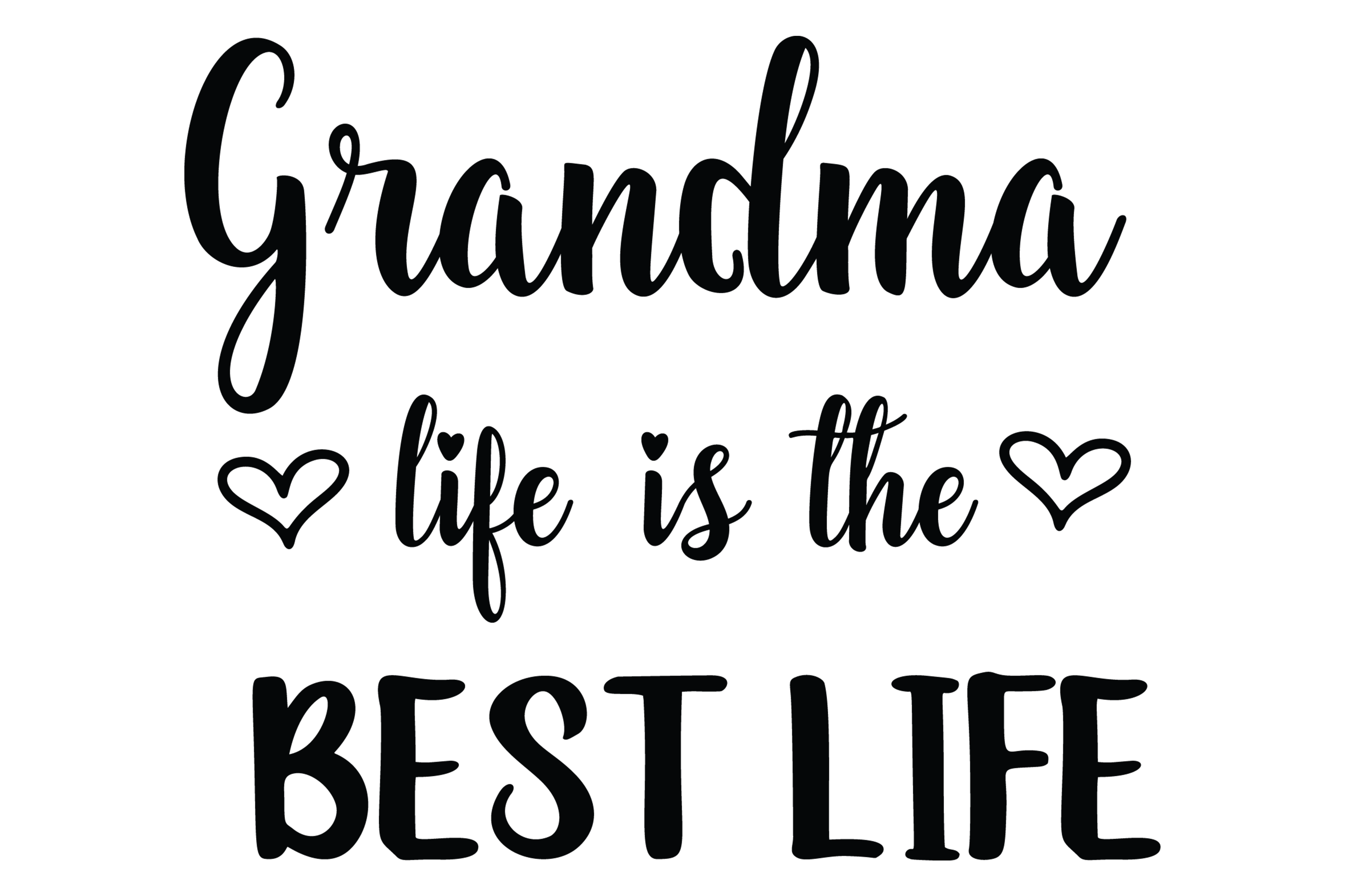 Download Free Grandma Life Is The Best Life Graphic By Am Digital Designs SVG Cut Files