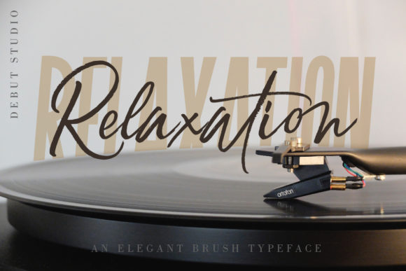 Print on Demand: Relaxation Script & Handwritten Font By Debut Studio