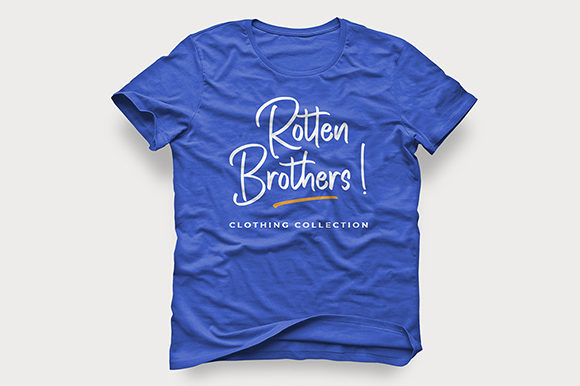 Print on Demand: Rotten Brothers Script & Handwritten Font By Bluestype Studio - Image 7