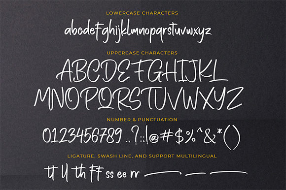 Print on Demand: Rotten Brothers Script & Handwritten Font By Bluestype Studio - Image 8