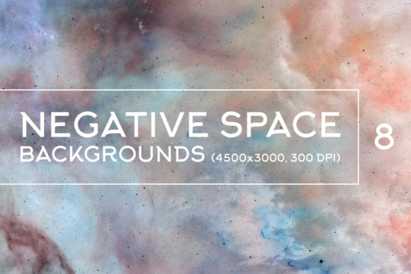 Print on Demand: Negative Space Backgrounds Graphic Backgrounds By freezerondigital